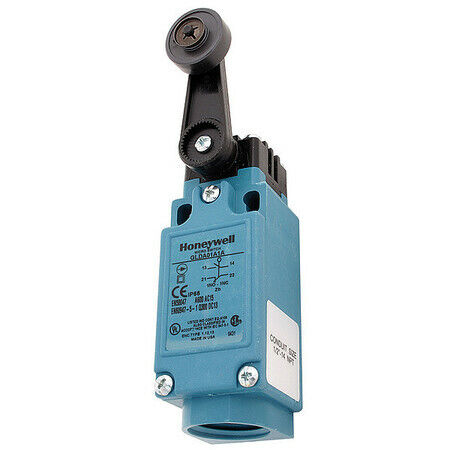 Honeywell Micro Switch Glda01a1a Limit Switch, Roller Lever, Rotary, 1Nc/1No,