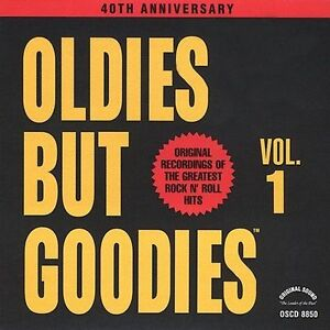 Oldies-But-Goodies-Vol-1-by-Various-Artists-CD-Oct-1990-Original-Sound