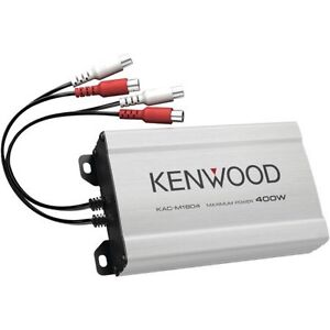 Kenwood 4 channel amp - Brand New