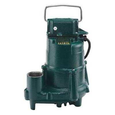 "ZOELLER N98 1/2 HP 1-1/2"" F Submersible Sump Pump 115V None"