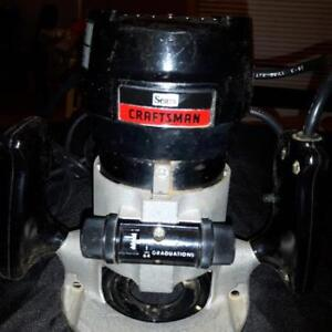 Craftsman Router 315