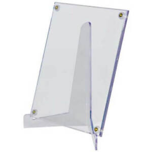 5a49e869041 ULTRA PRO LARGE LUCITE STAND FOR CARD  amp  PHOTO HOLDER