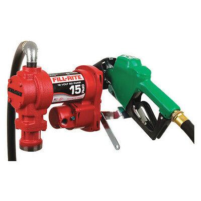 Fill-rite Fr1210ha1 Fuel Transfer Pump 12vdc 15 Gpm 14 Hp Cast Iron 1