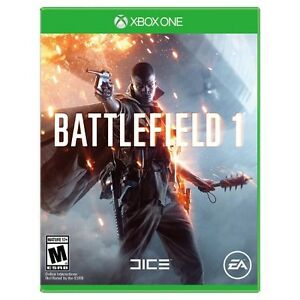 Wanted BATTLEFIELD 1 on Xbox
