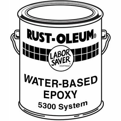 Rust-oleum 5344 Epoxy Activator And Finish Kit Safety Yellow Gloss 1 Gal