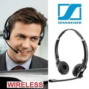 NEW SENNHEISER WIRELESS HEADSET STEREO HEADPHONES DW PRO 2 OFFICE WITH MICROPHONE 105902674