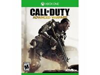 call of duty advanced warfare , xbox one , as new ! price stands , no offers !