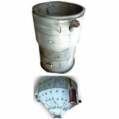 40 Cubic Foot Stainless Steel Blending Drying Bin