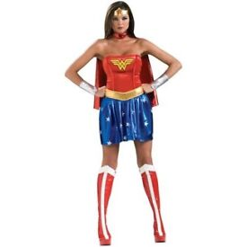 Wonder Woman Halloween Costume- complete with wig!