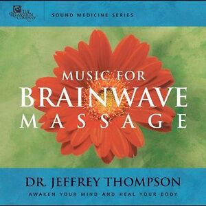Music for Brainwave Massage (2 CD) CD by Thompson Dr Jeffrey