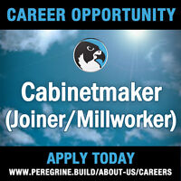 Experienced Cabinetmaker (Joiner/Millworker)