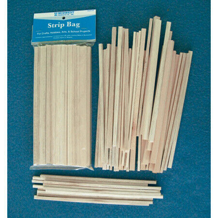 Midwest Products Co. Balsa & Basswood Strips