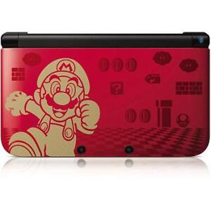 ✪3DS XL Édition Limitée Mario Gold, Chargeur, SD 4GB +...✪