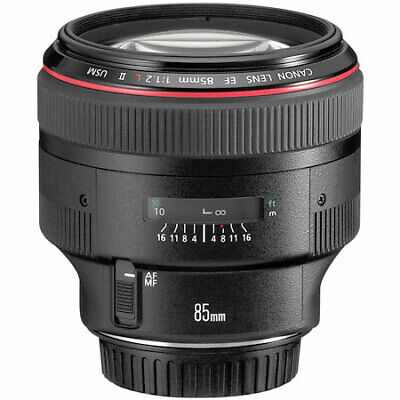 Used Canon 85mm F1.2 L II USM Lens