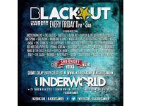 Blackout Club at The Underworld Camden // Cheap drinks, rocking music!