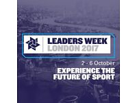 LEADERS WEEK SPORT BUSINESS CONFERENCE LONDON