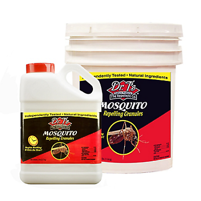 Dr T's Mosquito Repelling Granules 5# Jar- Natural Mosquito Repellent