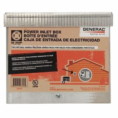 Generac 6343 Power Inlet Box30 Amp Ac