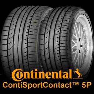 NEW Continental SC5P Tyres to suit Mercedes GLC43 AMG Preston Darebin Area Preview