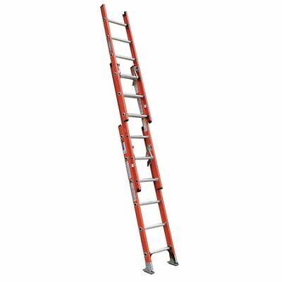 Werner D6220-3 Extension Ladder Fiberglass 20 Ft. Type Ia