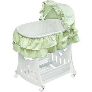 Portable Bassinet with Toy Box Base