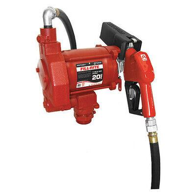 Fill-rite Fr700va Fuel Transfer Pump 115vac 20 Gpm 13 Hp Cast Iron