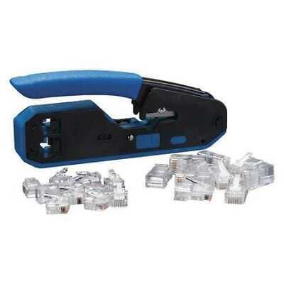 Ideal 33-396 5-38 Crimper And Connector Kit Rj-45 Rj-11