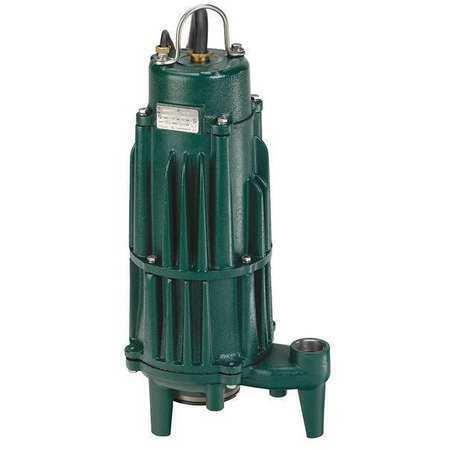 ZOELLER 820-0004 Grinder Pump, 230V