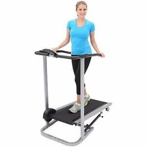 New, Exerpeutic Manual Treadmill - 105 (openbox)