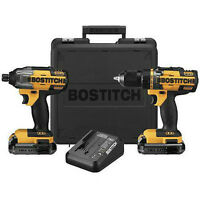 2 outils BOSTITCH 18 V lithium - perceuse/tournevis NEUF