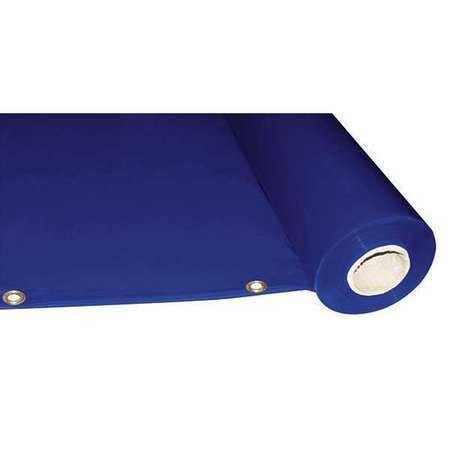 Westward 22Rn55 5 Ft. X 75 Ft. Pvc Welding Curtain Roll - Blue (Transparent)