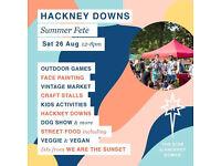 HACKNEY DOWNS SUMMER FETE