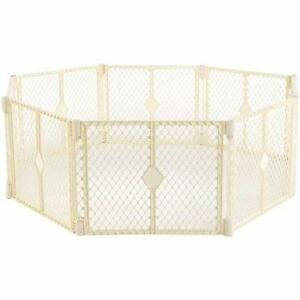 North States Superyard Classic 8-Panel Baby/Pet Gate & Play Yard