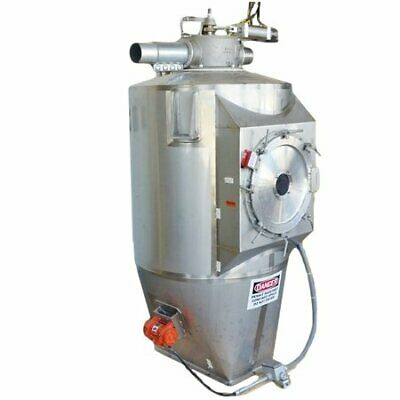 Used Stainless Steel Food Grade Pneumatic Receiving Bin - 39 Cuft