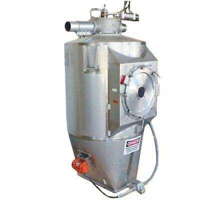 Used Stainless Steel Food Grade Pneumatic Receiving Bin - 39 Cuft