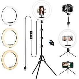 Ring Light with Tripod Stand & Phone Holder