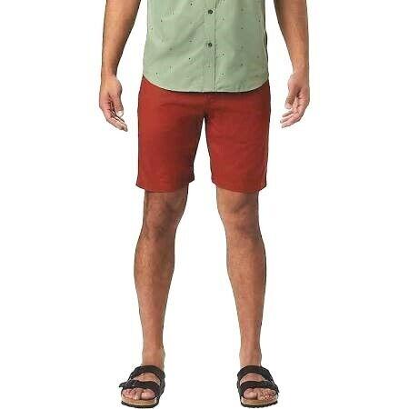 Mountain Hardwear  Men`s Castil Cargo Short--red/orange--size: 40x11--nwt