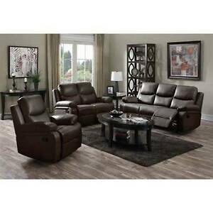 NEW!! 3 PIECE LEATHERETTE SOFA SET