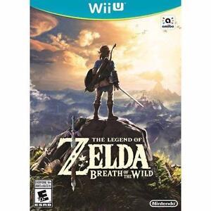 Retour en stock Zelda Breath Of The Wild sur Wii U