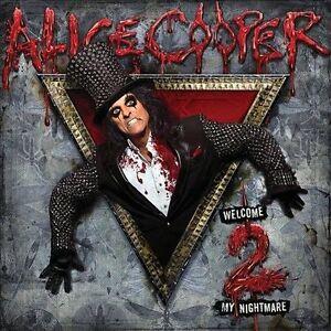 ALICE COOPER Welcome 2 My Nightmare (2011) CD NEW Bonus Track