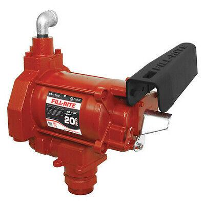 Fill-rite Fr710vn Fuel Transfer Pump 115vac 19 Gpm 13 Hp Cast Iron 1-14