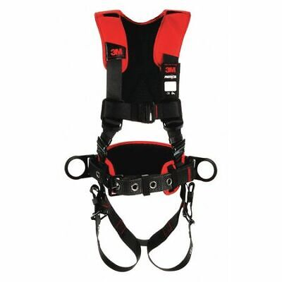 3m Protecta 1161205 Positioning Harness Vest Style Ml Polyester Black