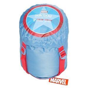 Selk bag Captain America sleeping bag KIDS Edmonton Edmonton Area image 2