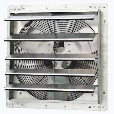 Dayton 1hla4 Shutter Mount Exhaust Fan 18 Variable Speed 1736 Cfm