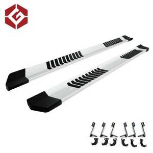 "NEW 6"" Flat Running Boards for 2009-18 Dodge Ram Crew Cab"