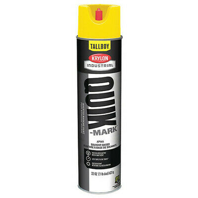 Krylon Industrial T03821007 Inverted Marking Paint 22 Oz. High Visibility