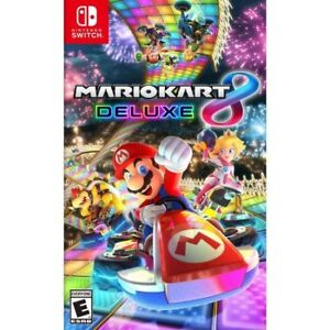Brand New Mario Kart 8 Deluxe for Switch