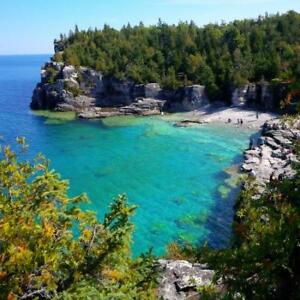 TOBERMORY/ BRUCE PENINSULA CAMP SITE AUG18-19-20