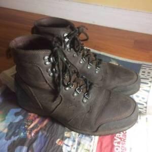sorel ankeny mid hiker boots men 9.5