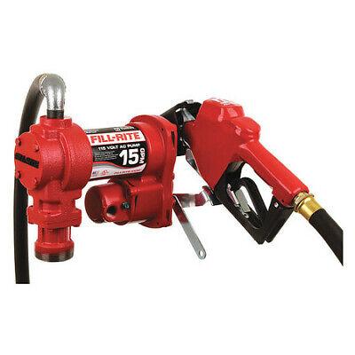 Fill-rite Fr610ha Fuel Transfer Pump 115vac 13 Gpm 16 Hp Cast Iron 1 Npt